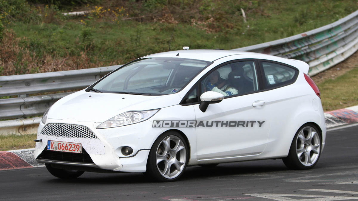 2013 Ford Fiesta ST Spy Shots