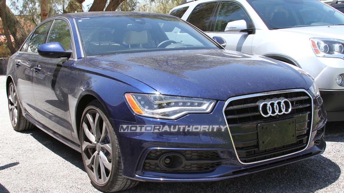 2012 Audi S6 spy shots