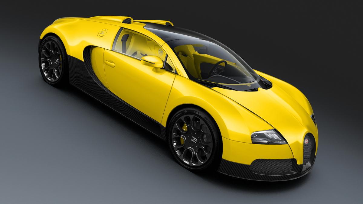 Bugatti Veyron Grand Sport Dubai