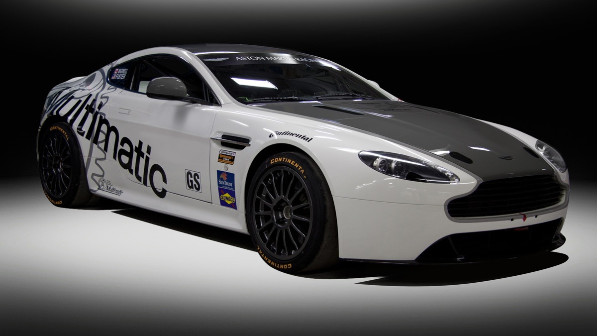 Aston Martin's Vantage GT4 will run in the 2012 Grand-Am series.