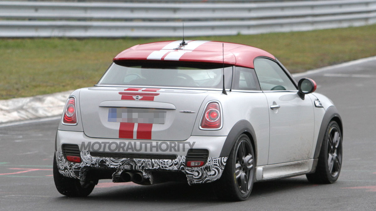 2013 MINI Coupe JCW GP spy shots