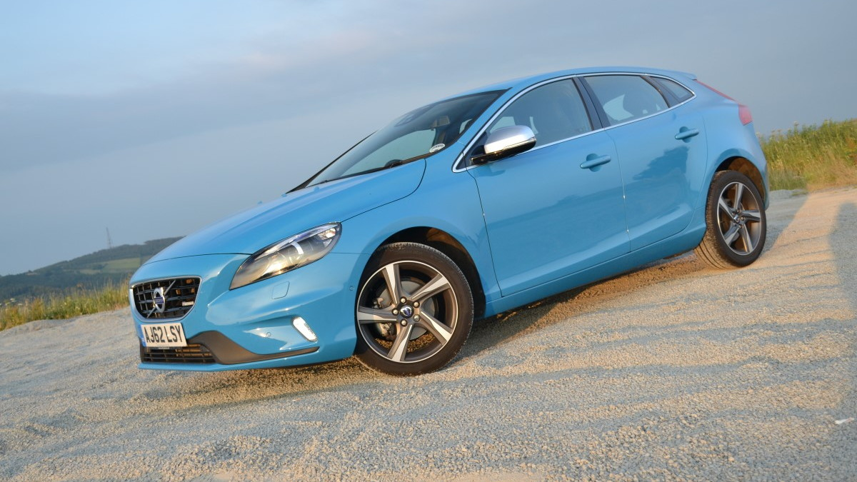 2014 Volvo V40 D2 diesel - UK first drive