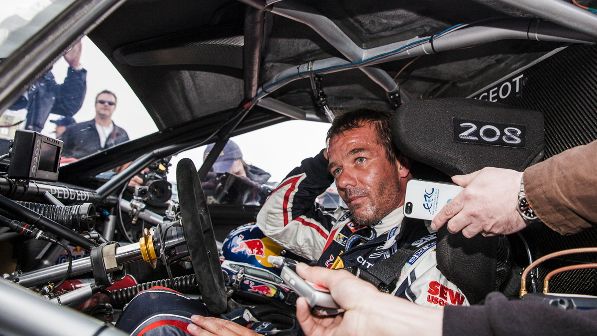 Sébastien Loeb and Peugeot 208 T16 Pikes Peak car seek Goodwood hill climb record