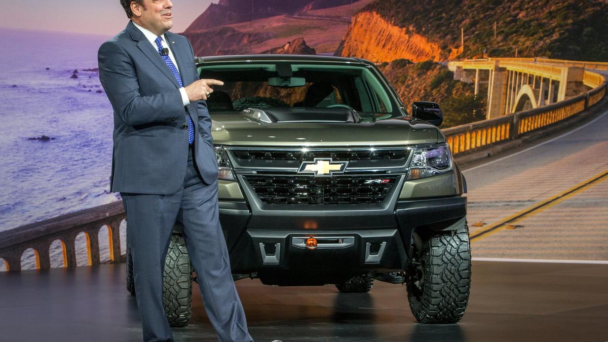 2015 Chevrolet Colorado ZR2 concept, 2014 Los Angeles Auto Show