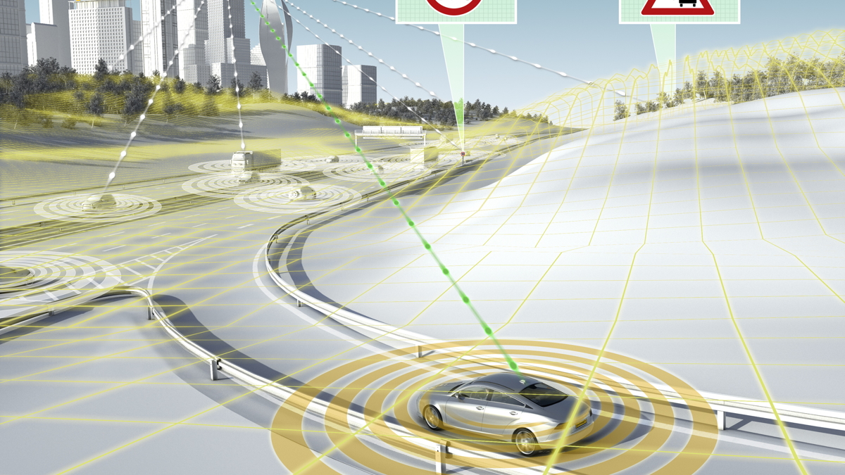 Continental eHorizon cloud-to-car system