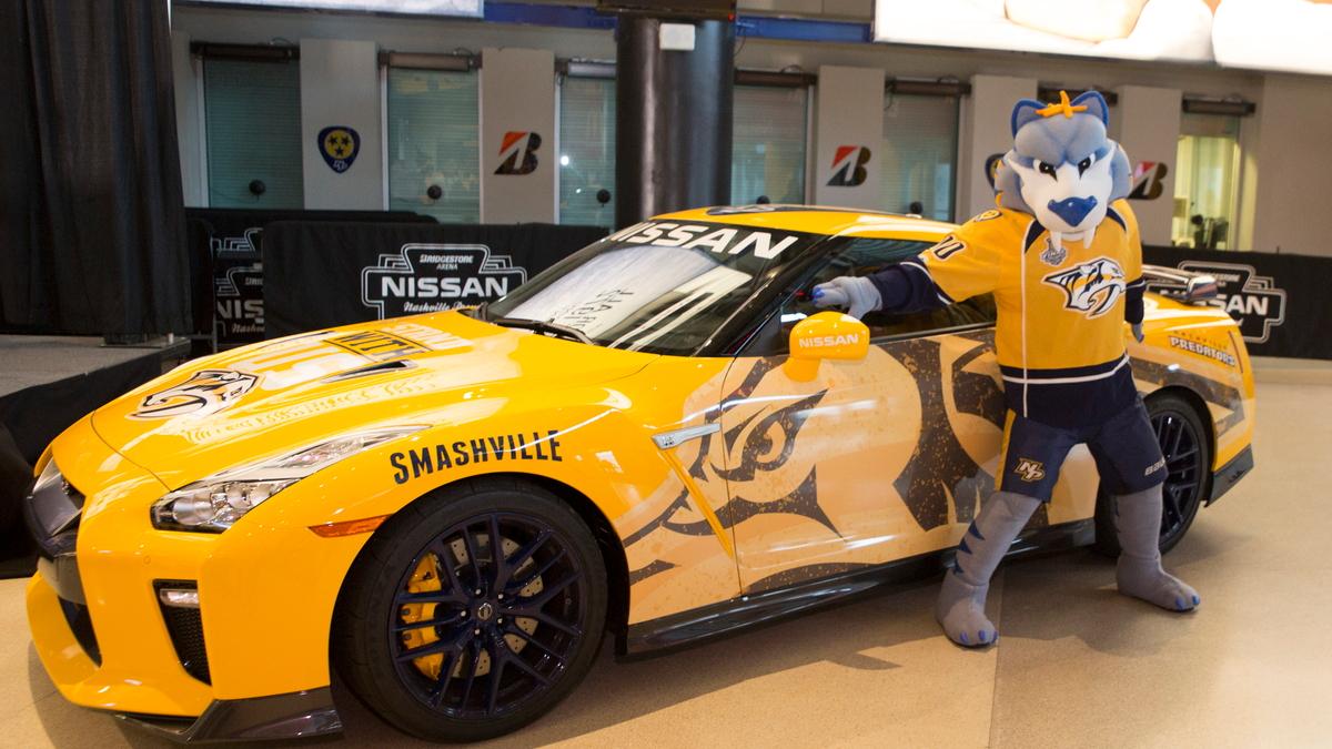 Nissan Predzilla GT-R charity car