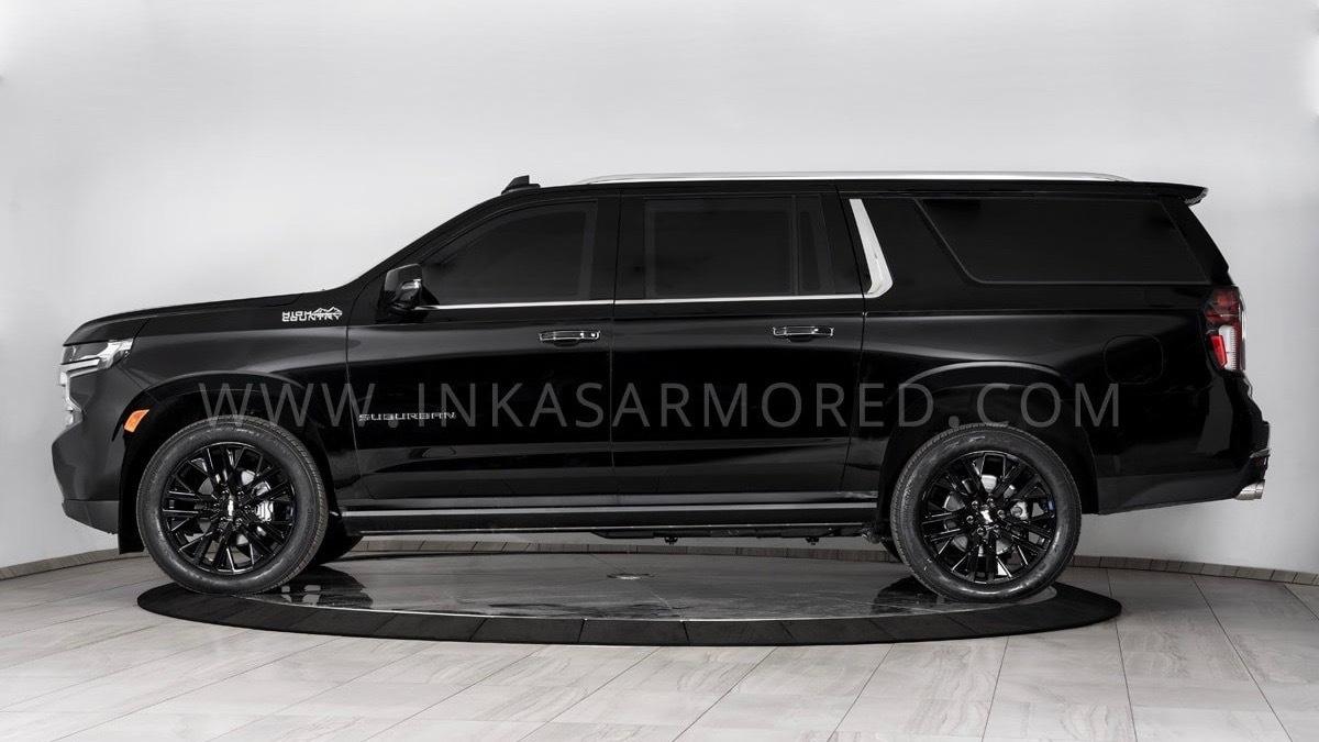 Inkas armored 2021 Chevrolet Suburban