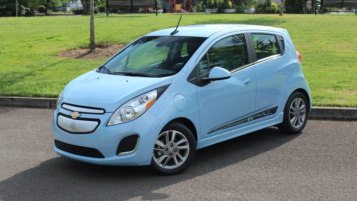 2015 Chevrolet Spark Ev Switches Battery Cells 82 Mile Range Remains