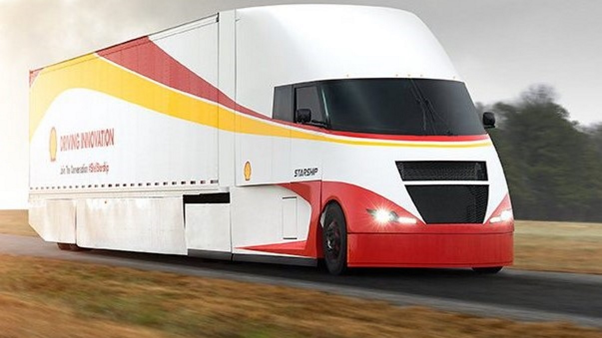 Shell Airflow Starship fuel economy record truck