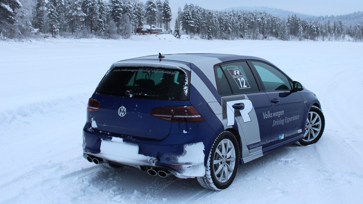 2015 Volkswagen Golf R (Euro spec)  -  Preview Drive, Sweden, January 2014