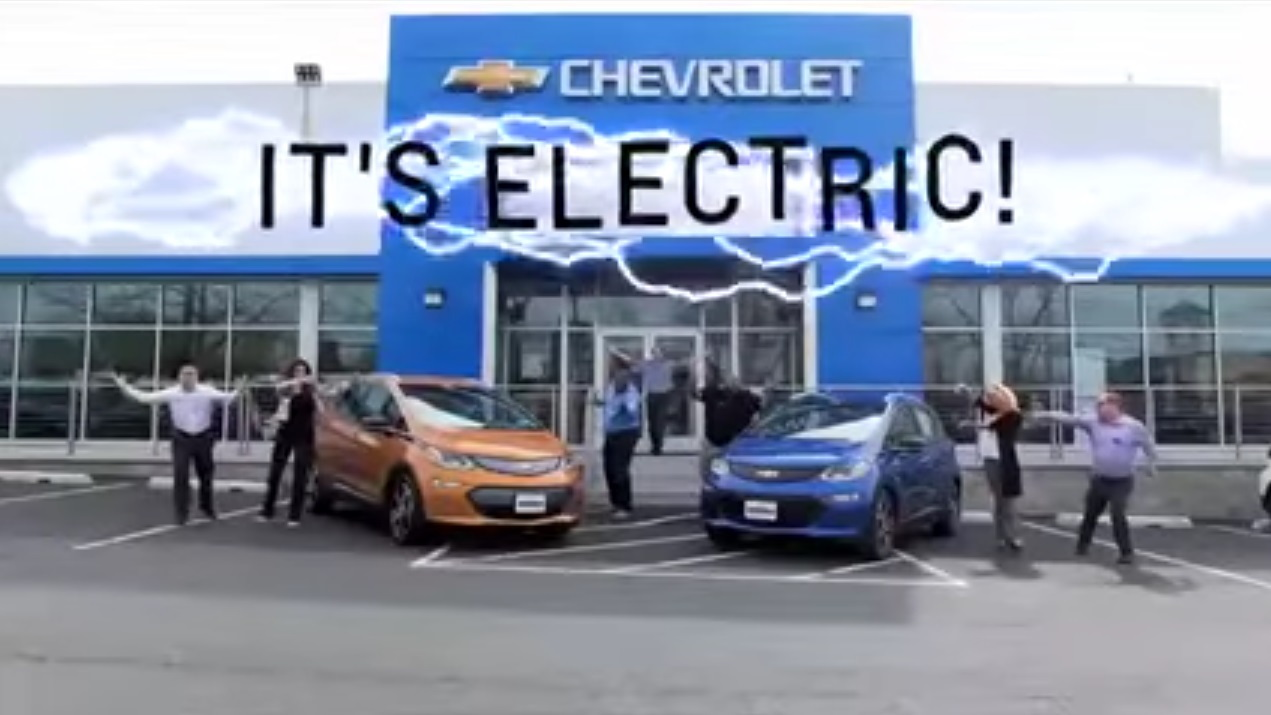 Low Budget Chevy Bolt Ev Dealer Ad Normalizes Electric Cars