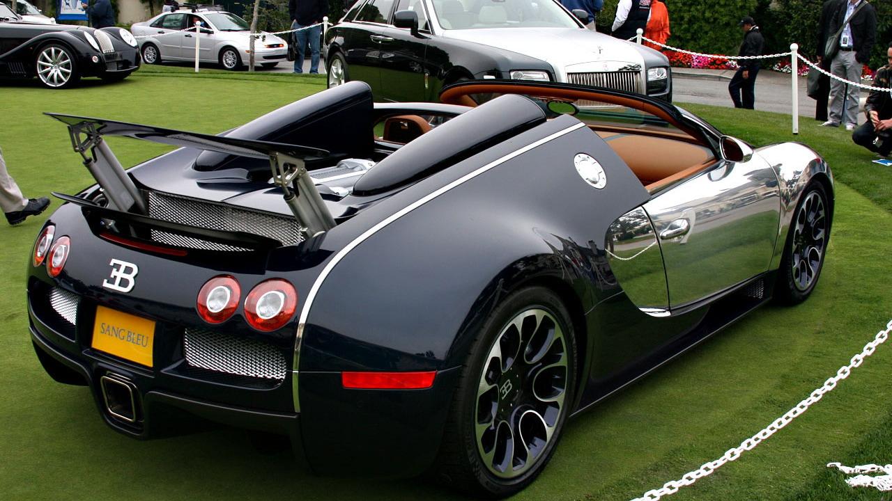 2009 Bugatti Veyron 16.4 Grand Sport Sang Bleu