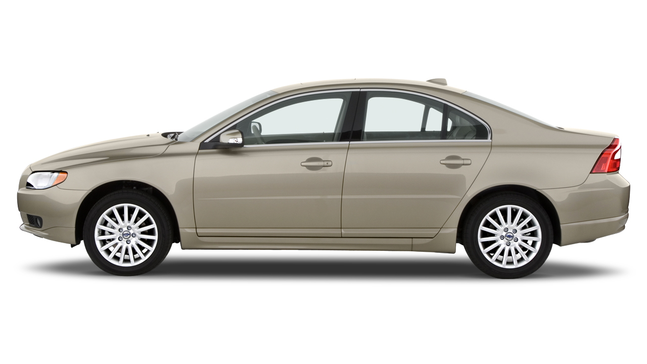 2010 Volvo S80 4-door Sedan I6 FWD Side Exterior View