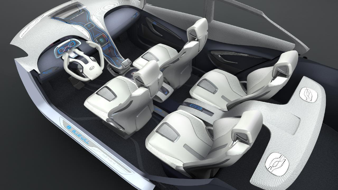 Hyundai Blue-Will Concept interior
