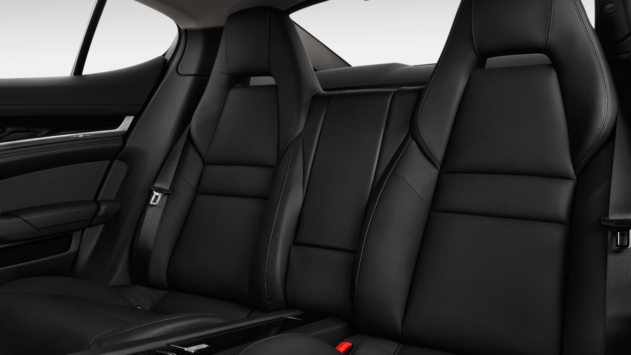 2010 Porsche Panamera 4-door HB 4S Rear Seats