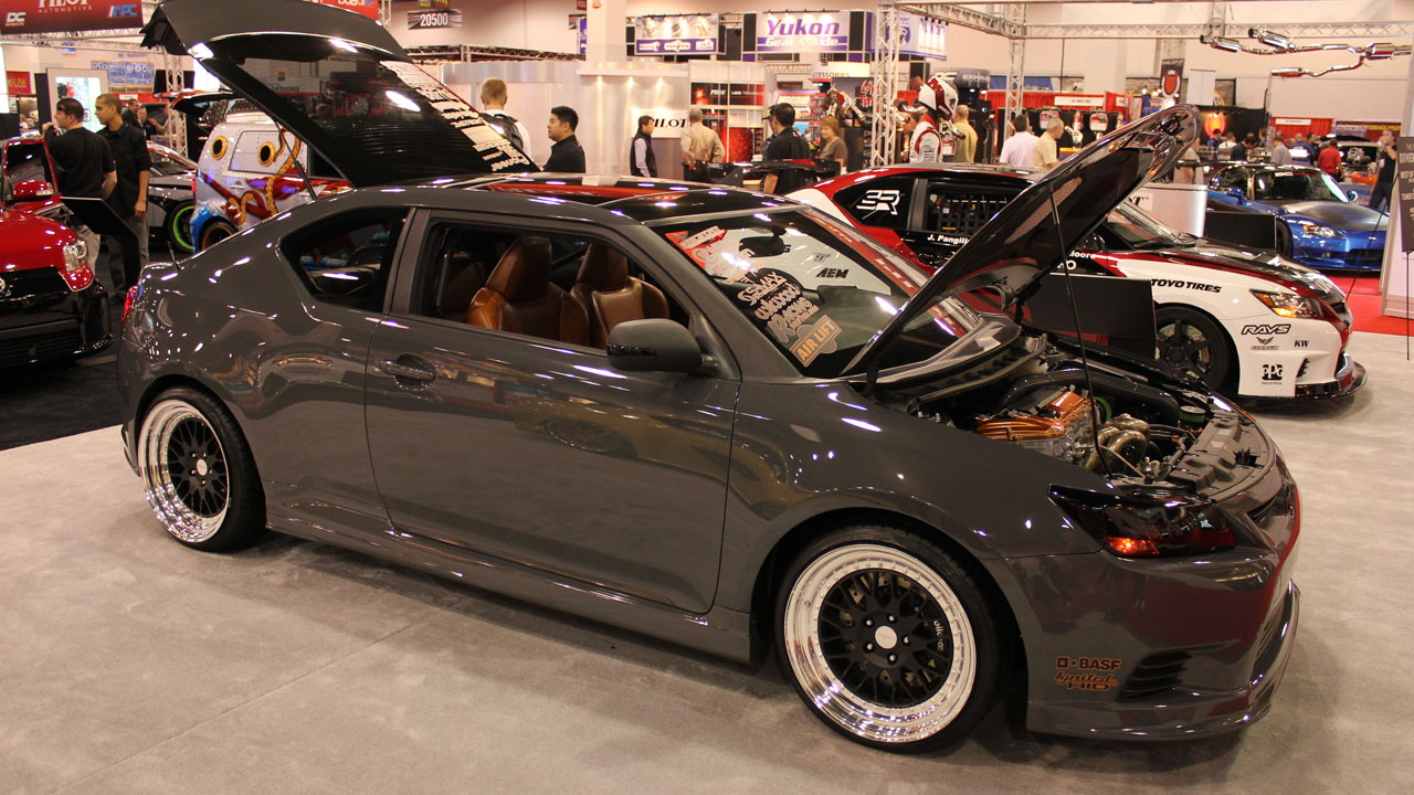 2010 SEMA Show: Shawn Baker tC Tuner Challenge live photos