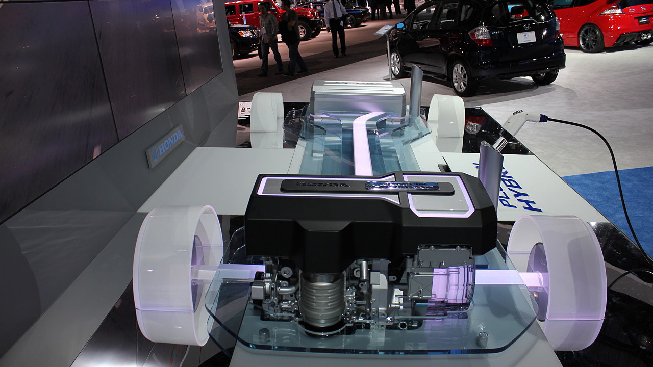 Honda plug-in hybrid chassis