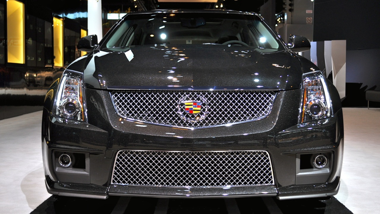 2011 Cadillac CTS-V Wagon Black Diamond Edition