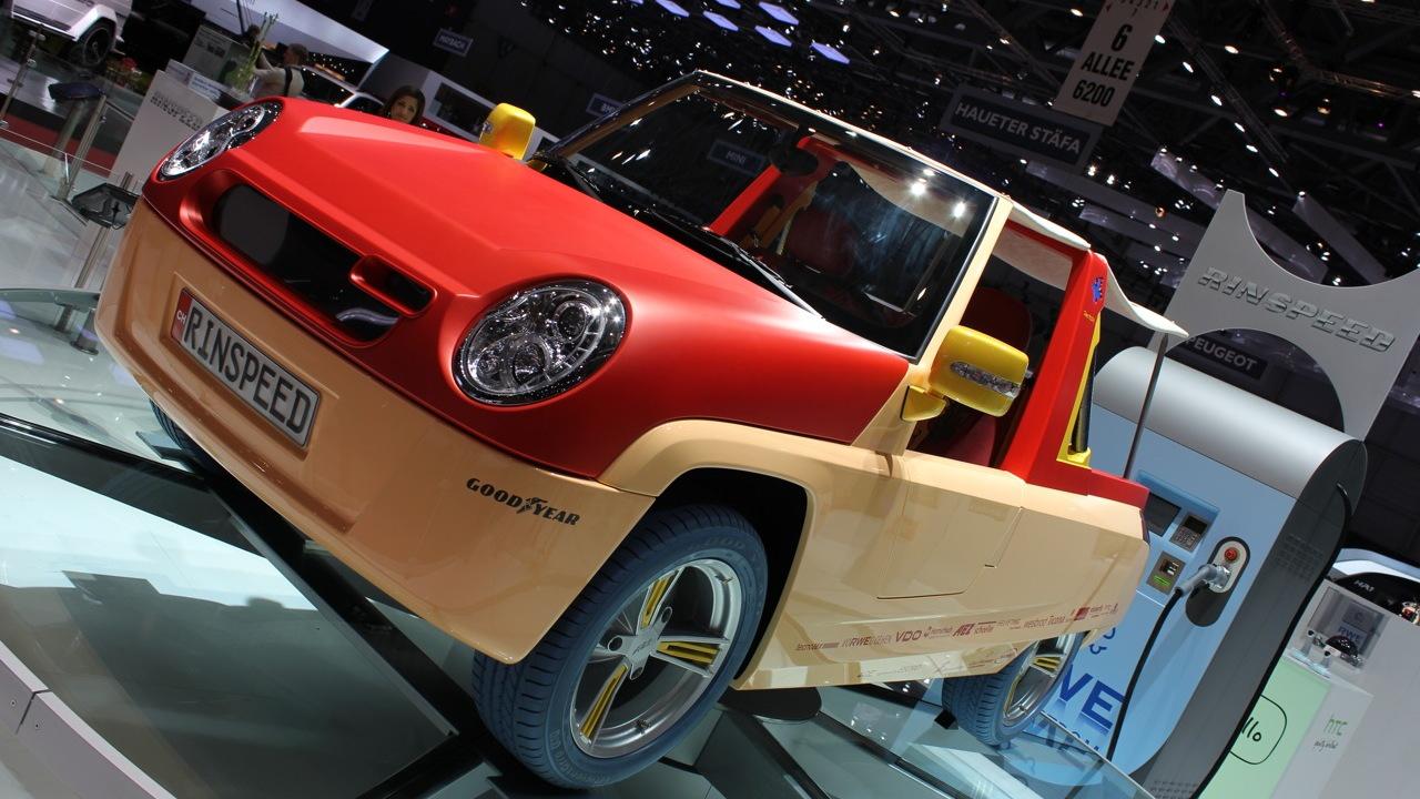 2011 Rinspeed BamBoo Concept live photos
