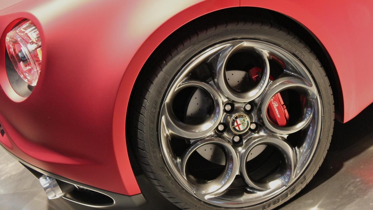 2011 Alfa Romeo 4C Concept live photos
