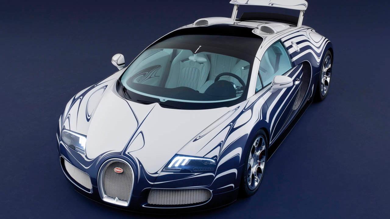 Bugatti Veyron L'OR Blanc Grand Sport