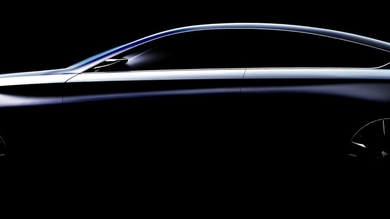 Hyundai's HCD-14 Concept, to be revealed at the Detroit Auto Show