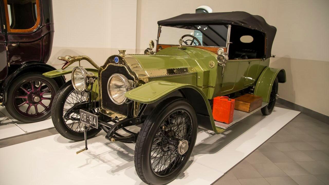 1911 Lorraine Dietrich at Franschhoek Motor Museum, South Africa
