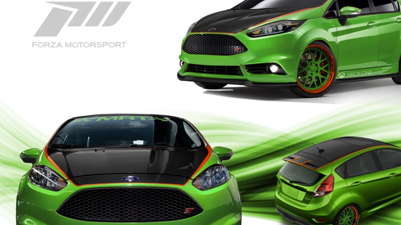 2014 Ford Fiesta ST by MRT to debut at SEMA.