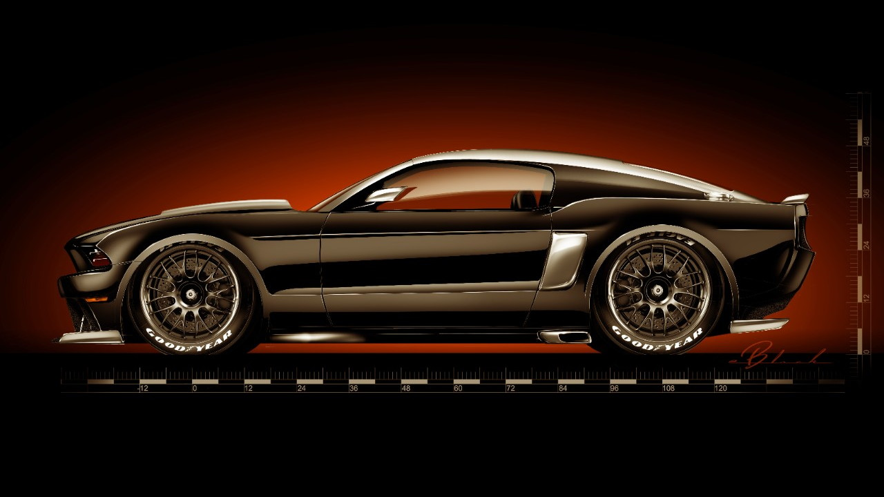 2014 Ford Mustang by Hollywood Hot Rods to debut at SEMA.
