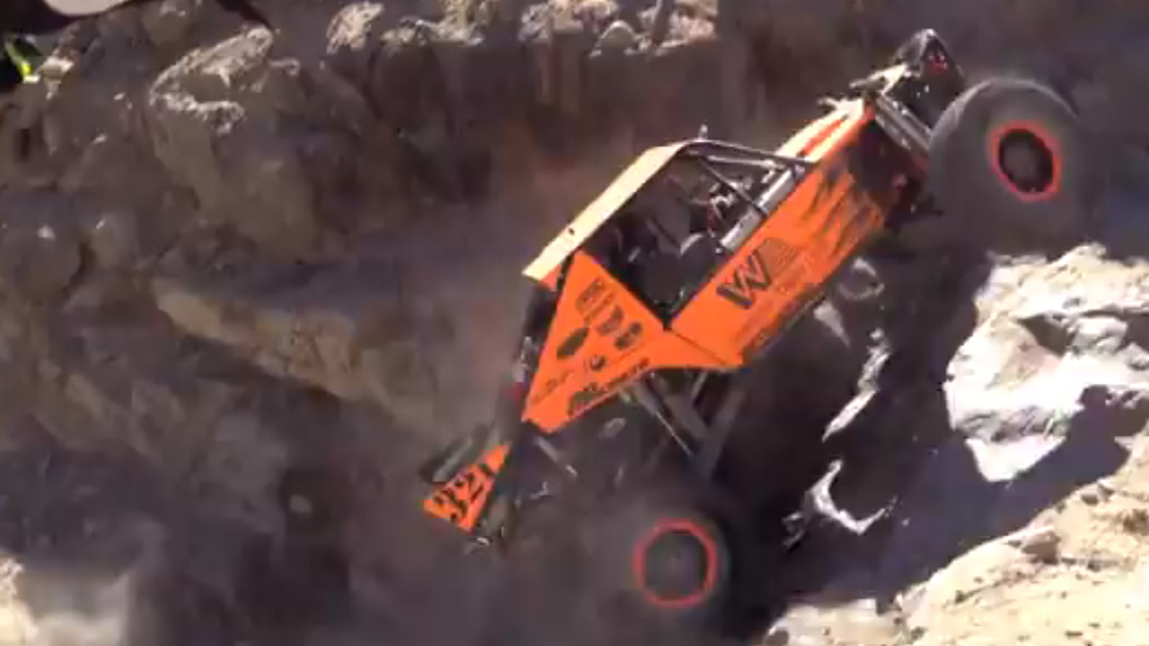 Tom Wayes at King of the Hammers.