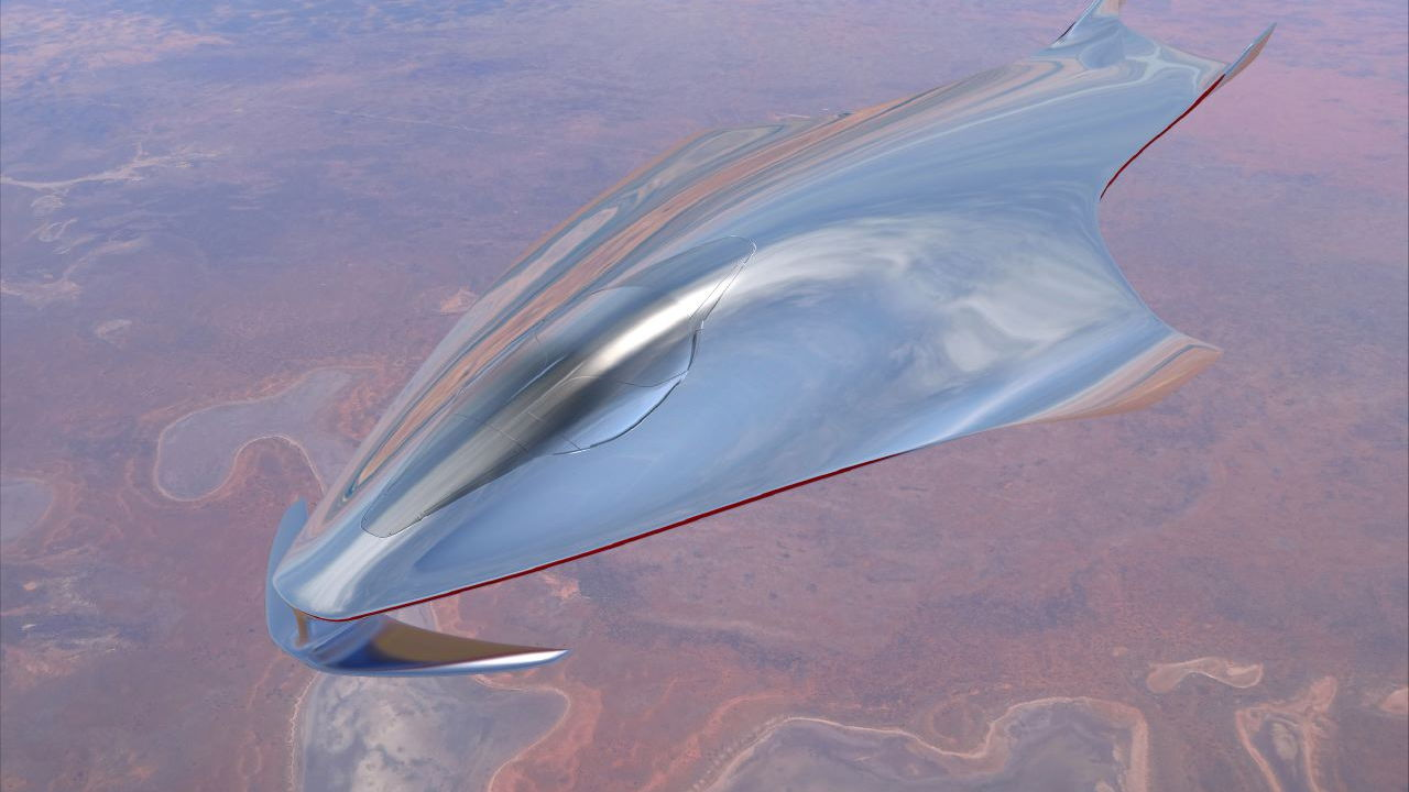 Ferrari spaceship designed by Flavio Manzoni