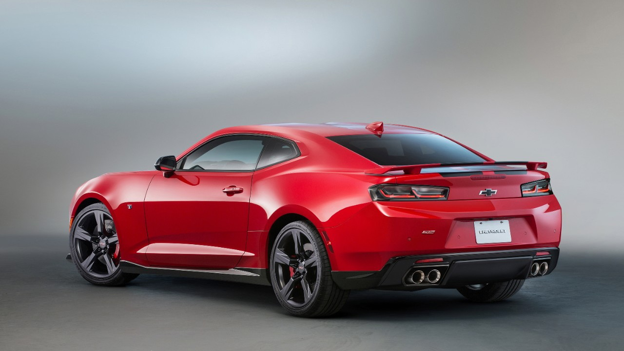 2016 Camaro SS Red Accent Package concept