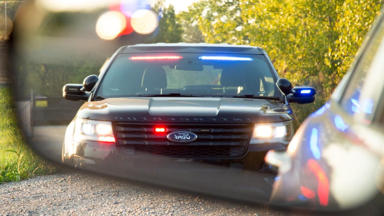 Ford Police Interceptor Utility Front Interior Visor Light Bar