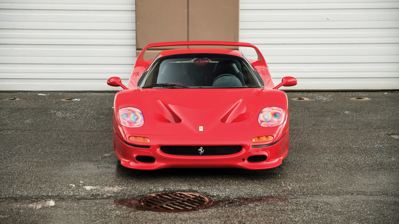 Mike Tyson-owned Ferrari F50 for sale