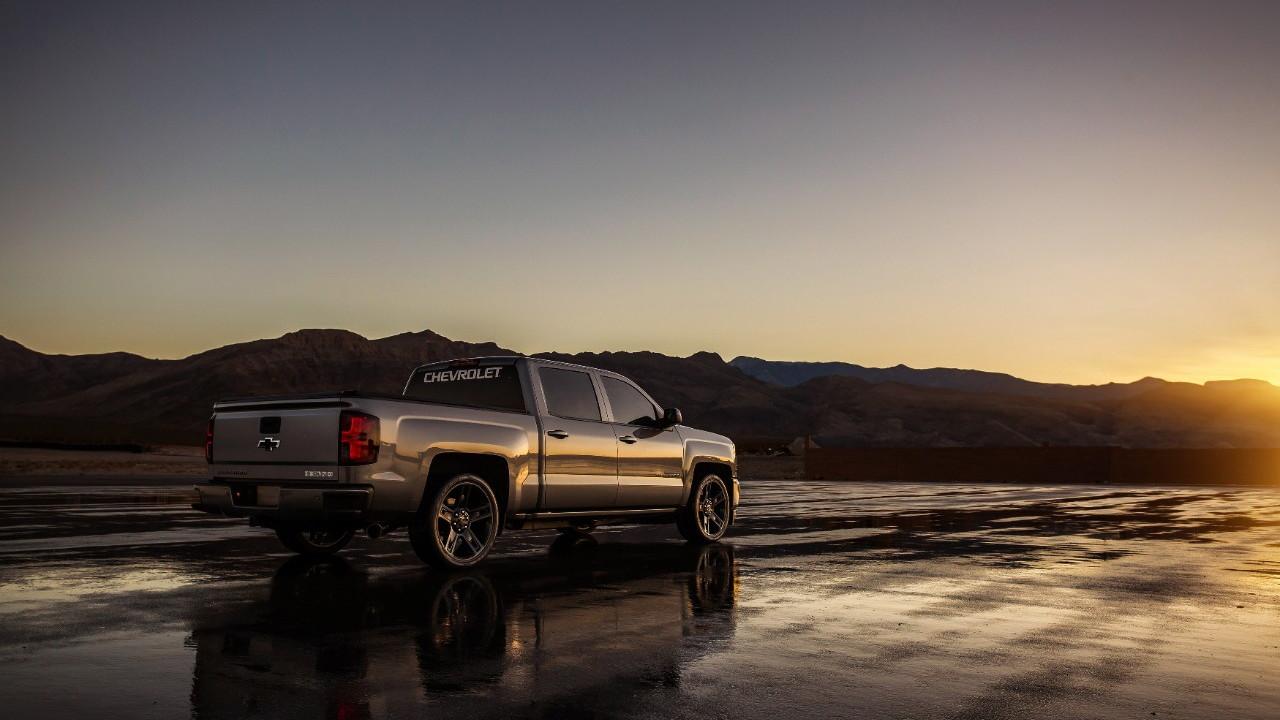 Chevrolet Silverado performance concept 2017 SEMA show