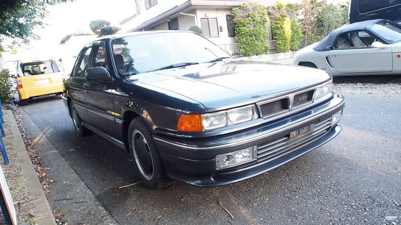 1991 Mitsubishi Galant tuned by AMG