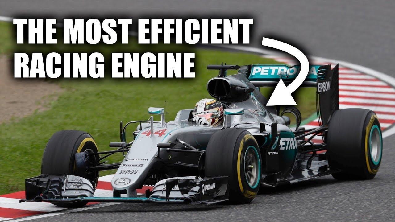 Mercedes-Benz F1 engine efficiency