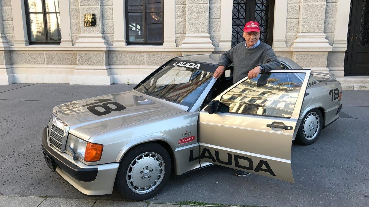 Mercedes-Benz 190e 2.3-16v Ex-Niki Lauda 1984 for sale