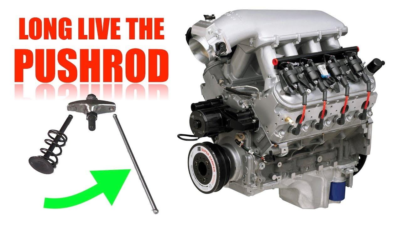 Why the pushrod engine still exists