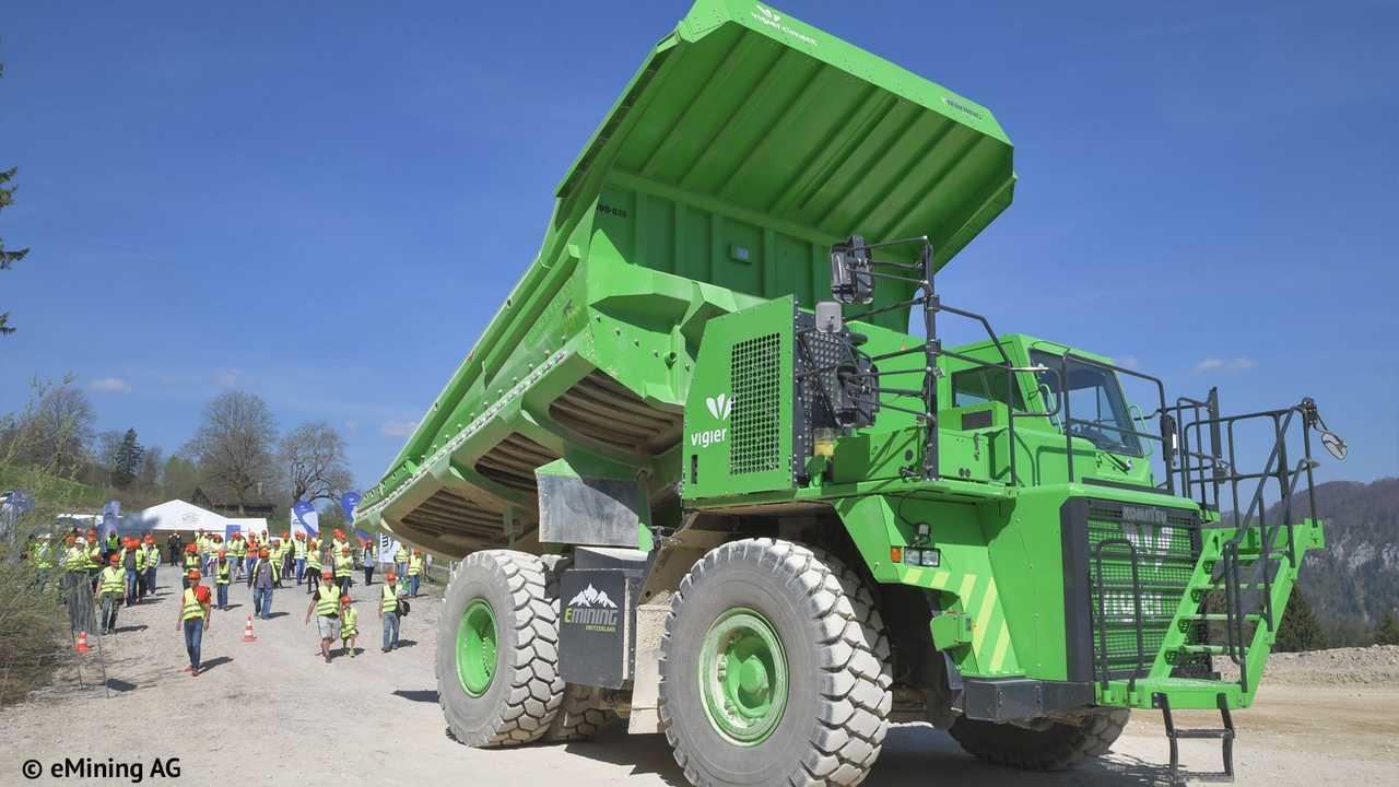 Kuhn Schweitz Elektro Dumper electric mining truck