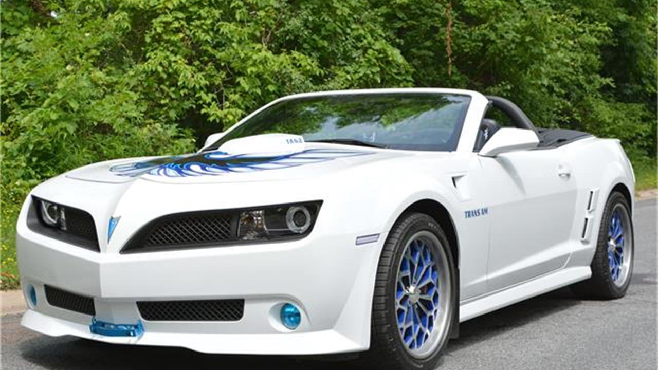 2014 Chevy Camaro SS converted into Firebird Trans Am