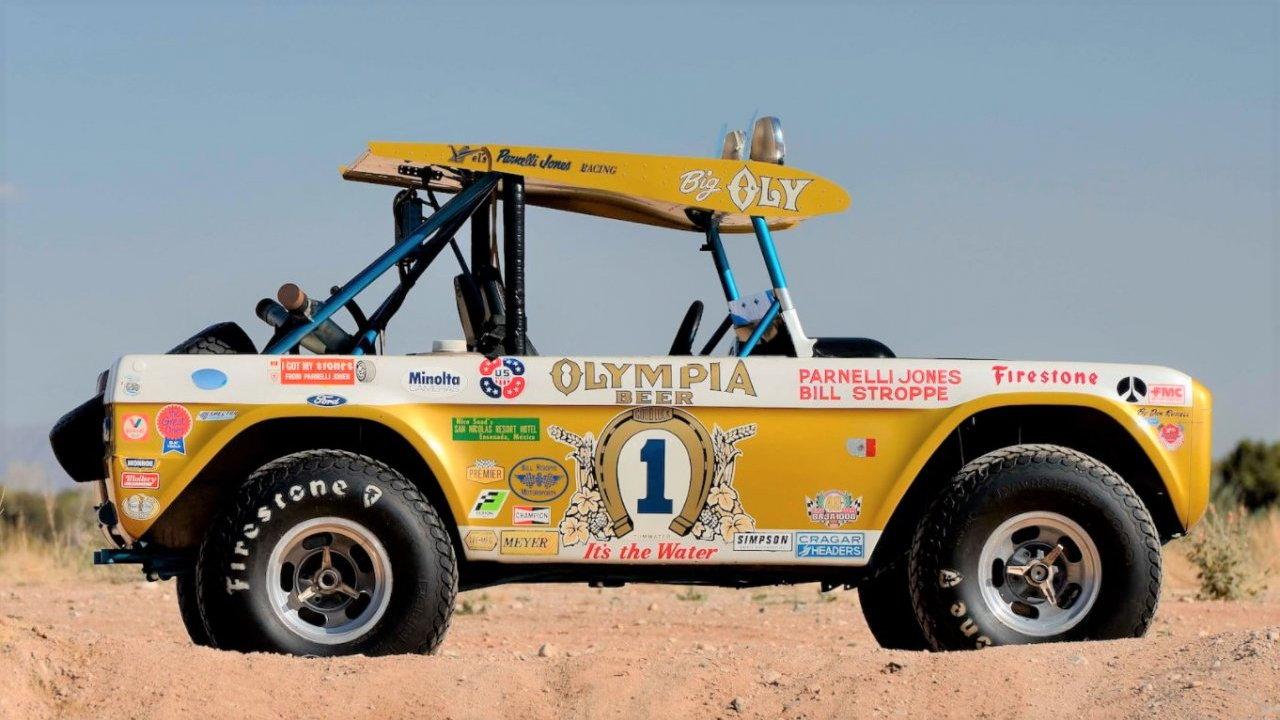 Parnelli Jones' Baja-raced 'Big Oly' Ford Bronco | Photos by Mecum Auctions
