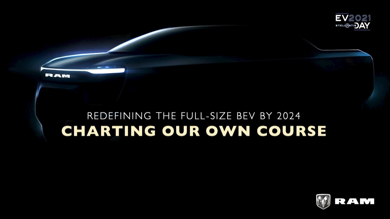 Ram 1500 BEV  -  2021 Stellantis EV Day