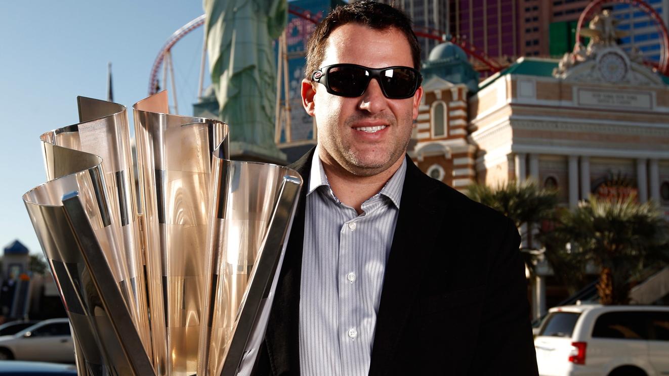 Tony Stewart Starts Champions Week in Las Vegas - NASCAR photo