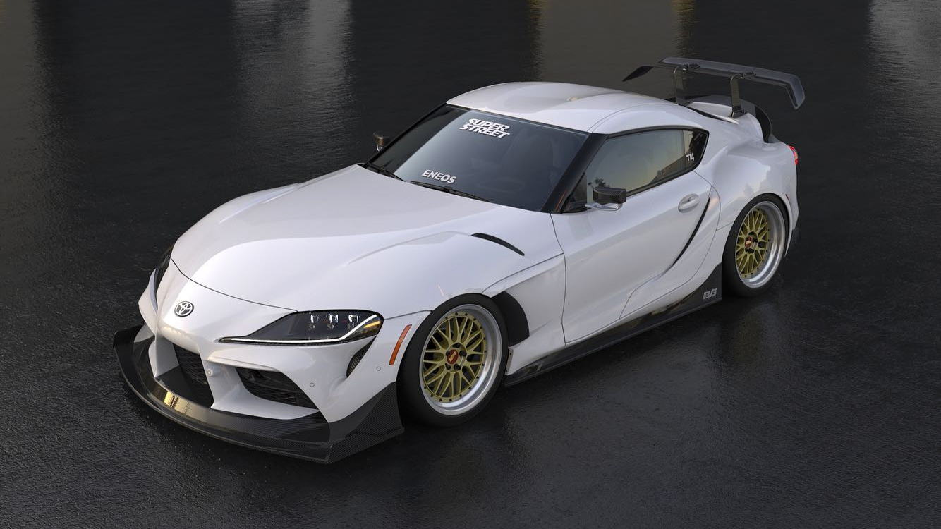 2020 Toyota Supra Widebody for SEMA
