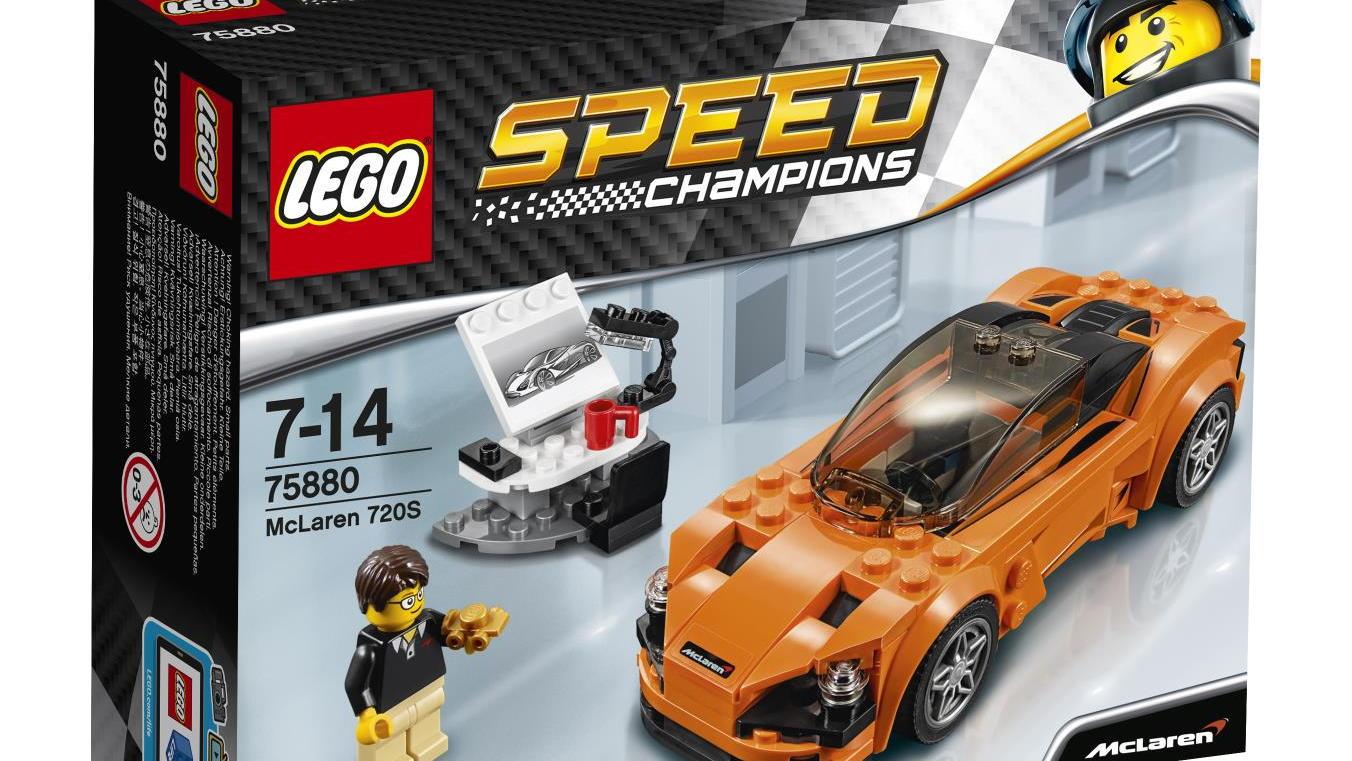 McLaren 720S in Lego form