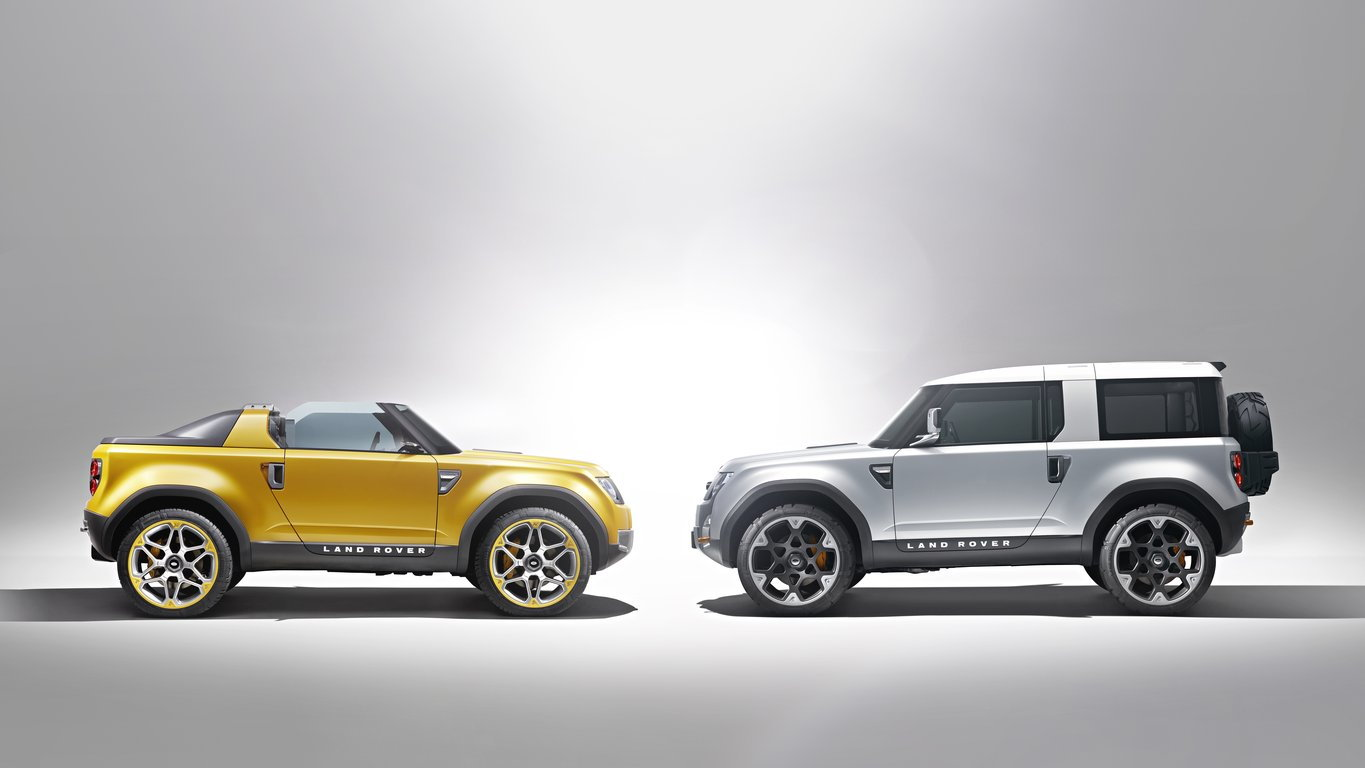 2011 Land Rover DC100 and DC100 Sport Concepts