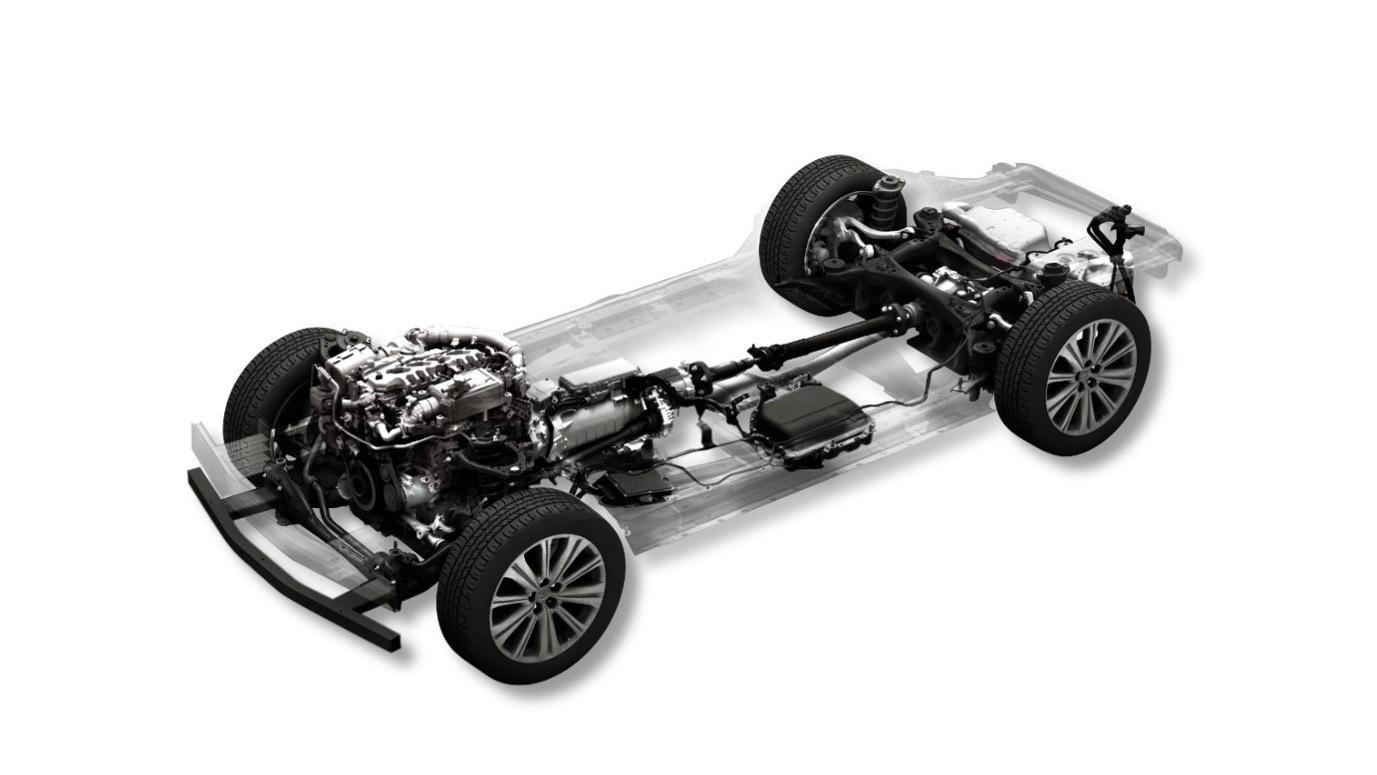 Mazda diesel mild-hybrid powertrain