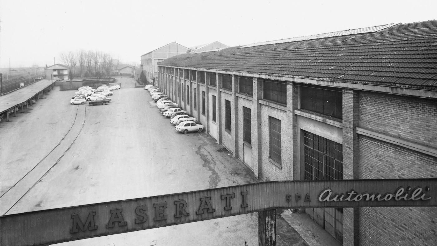 Maserati factory (1965)