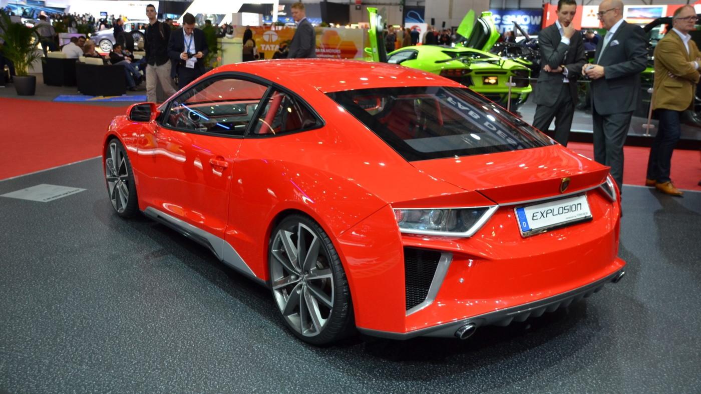 Gumpert Explosion - 2014 Geneva Motor Show live photos